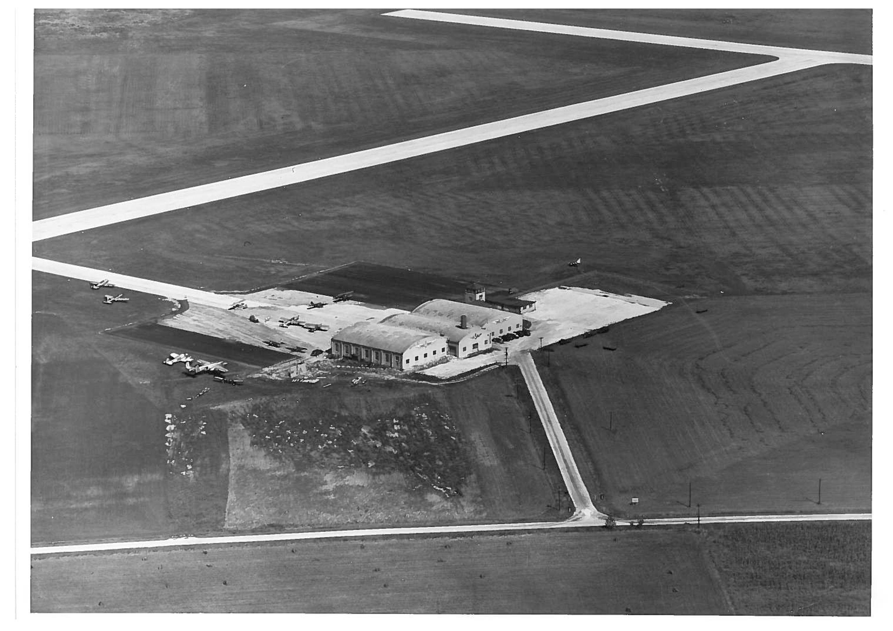 University Airport, circa 1945-46